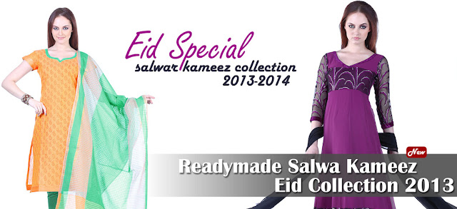 Eid Special Salwar Kameez Collection 2013-2014 For Women