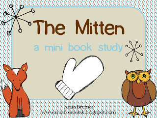The Mitten Printable Book