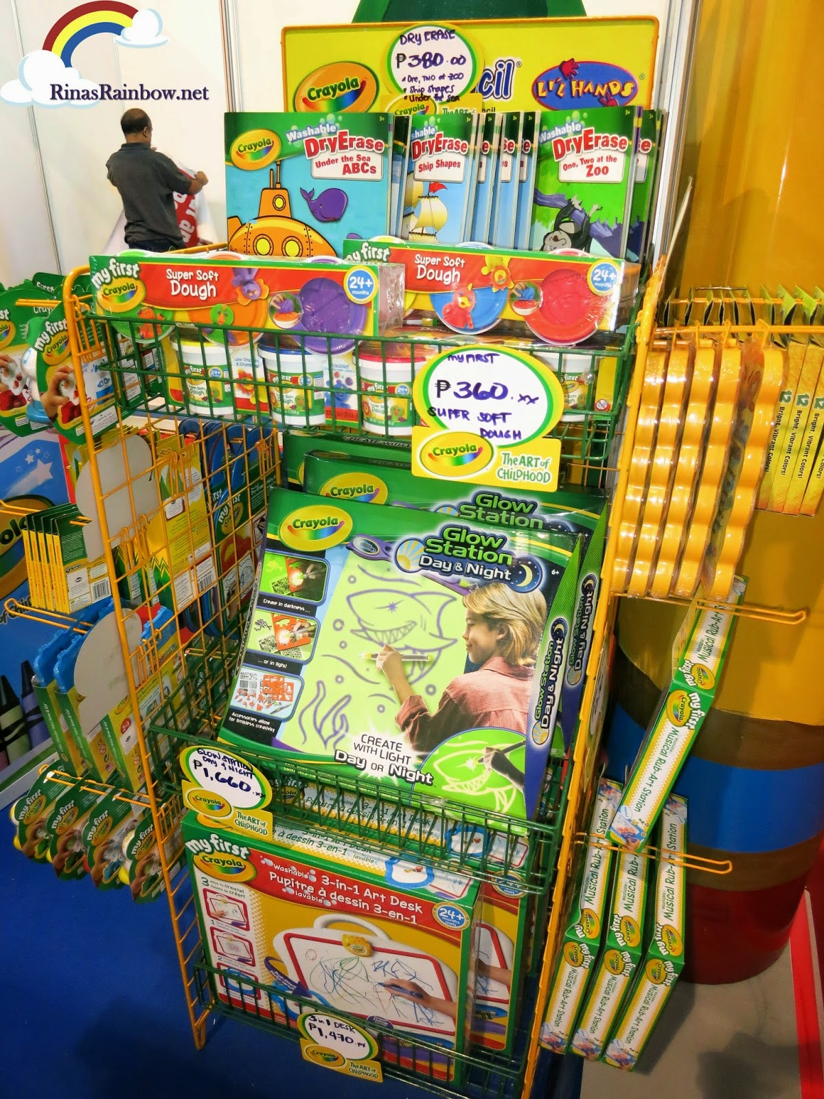 baby and family expo 2013 crayola