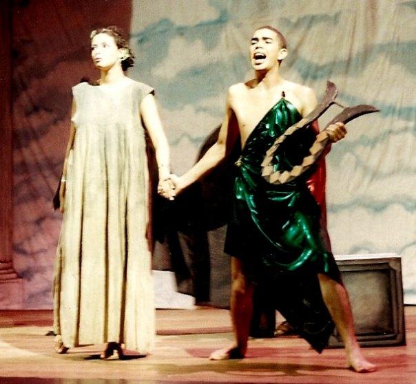 Cuentos de la Vieja Grecia. Personaje: Eurídice