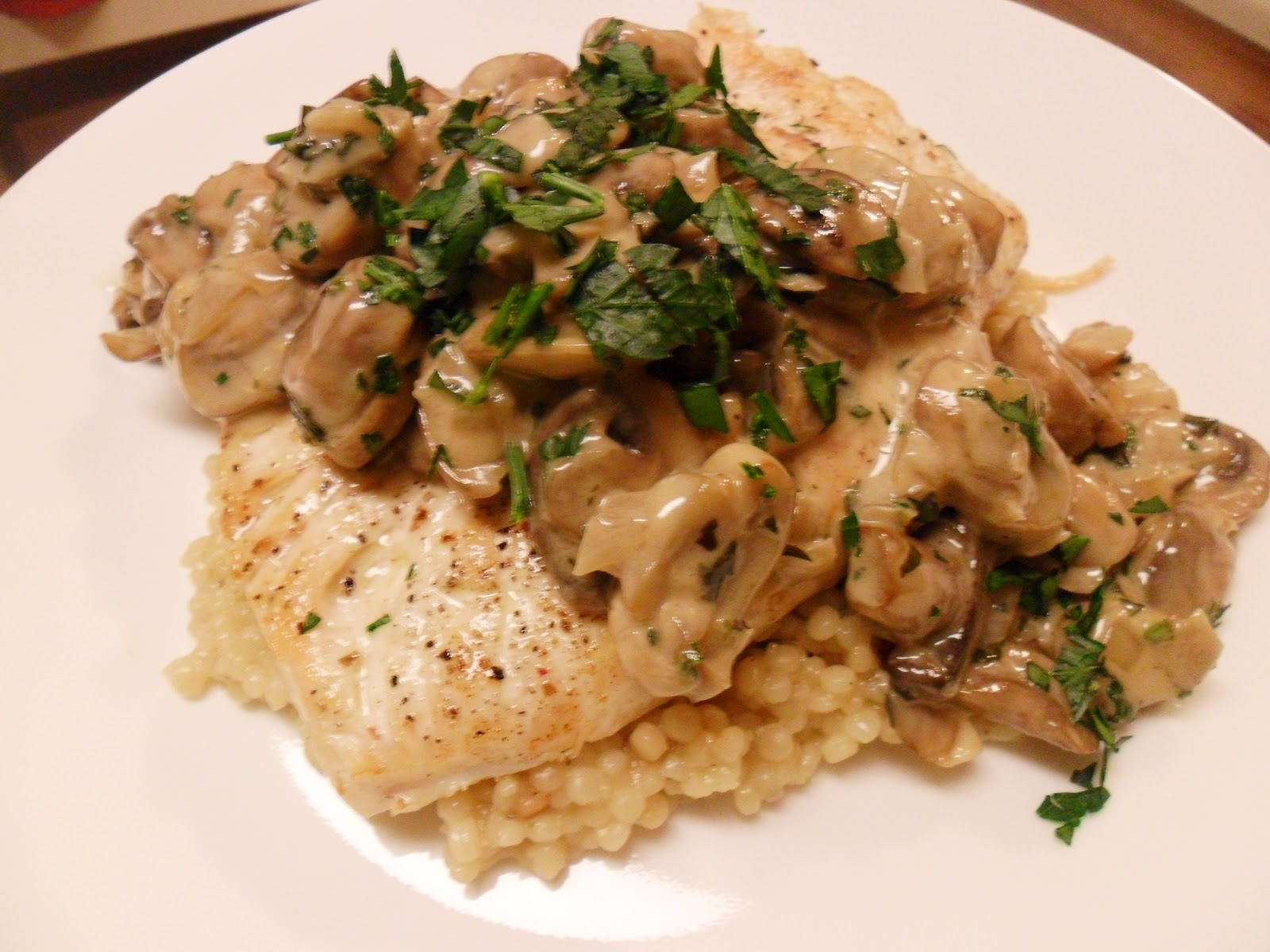 chicken breasts with mushroom sage sauce recipe yummly chicken breasts ...
