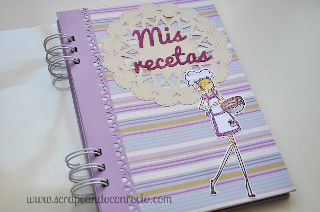 Recetario scrapbooking descargable