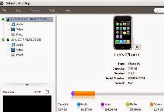 Xillisoft iPod Rip Serial Key Free Full Version