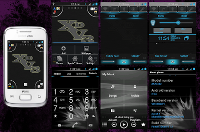 Cara Upgrade Samsung Galaxy GT-S6102 Ke Custom Rom XDUOS
