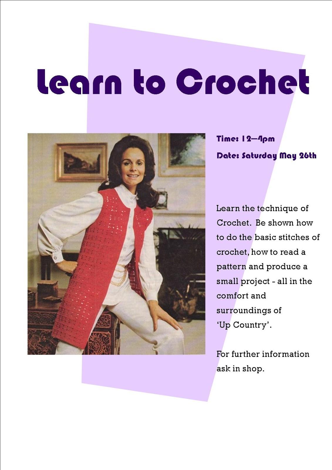 Knitting Club Flyer : Fairislerona why not learn to knit socks or crochet in