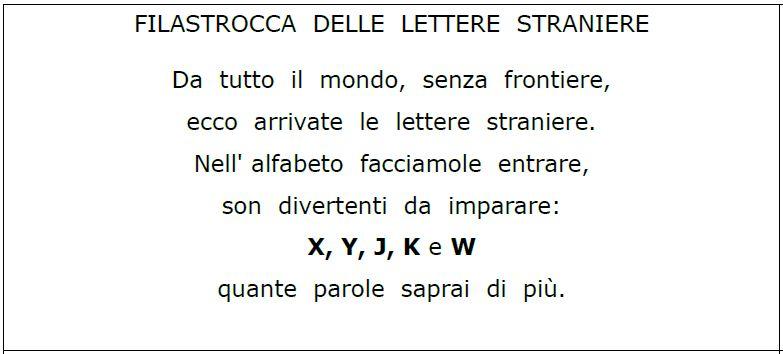 Très Con un po' di fantasia: Le lettere straniere XP59