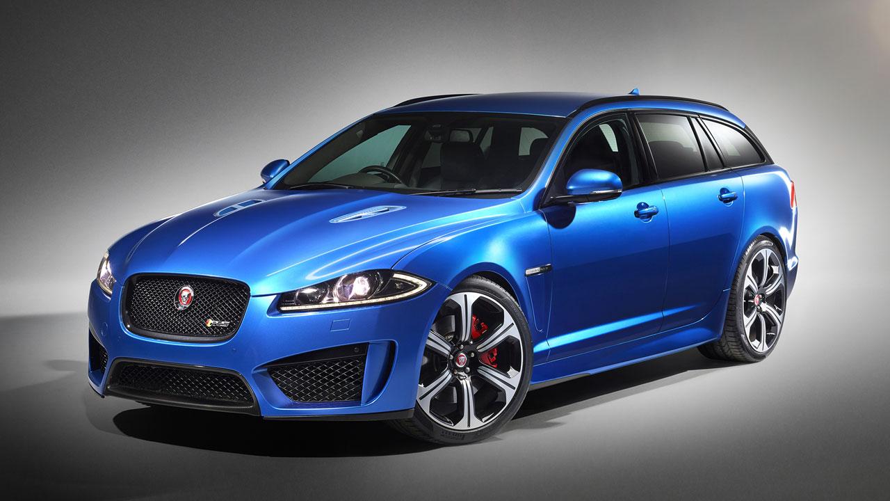 Jaguar XFR-S Sportbrake front side