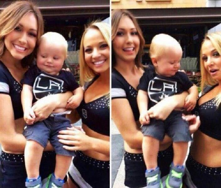 Este bebé es un loquillo