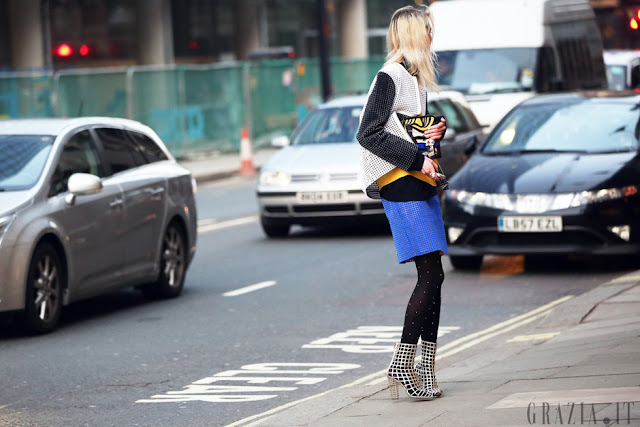 london fashion week streetstyle look, perforated, perfo, pop art, phillip lim pop art bag, diy, fashion diy,