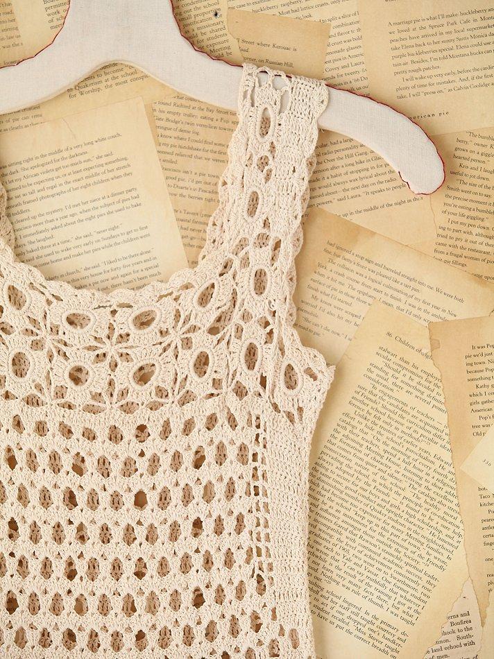 Crochet Patterns To Try : Crochet Patterns to Try: Crochet Free People Vintage Mini Dress - Free ...
