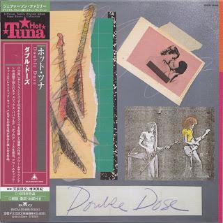 HOT TUNA - DOUBLE DOSE (GRUNT/RCA 1978) JVC K2 mastering cardboard sleeve