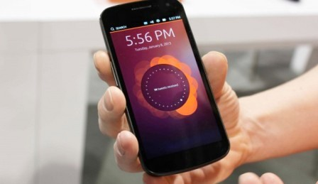 Ubuntu First Smartphone Running Revealed