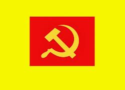 Bandera de La Internacional Proletaria El Socialismo