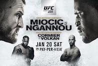 UFC 220 Report