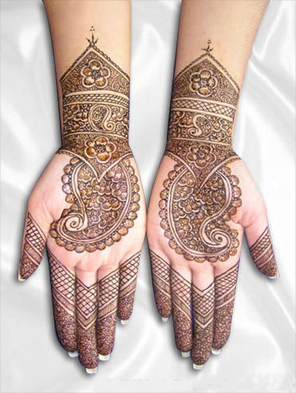 arabic mehendi designs latest