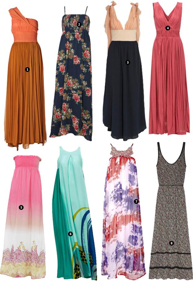 robes d'été longues  2013