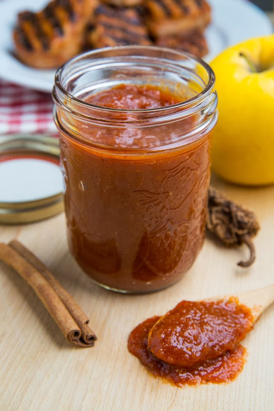 Roasted Apple BBQ Sauce