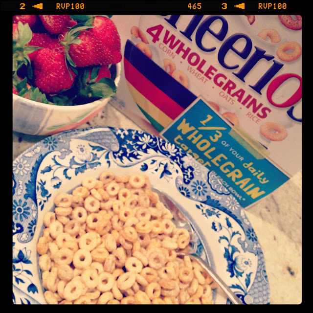 #WordlessWednesday, home, cheerios, breakfast