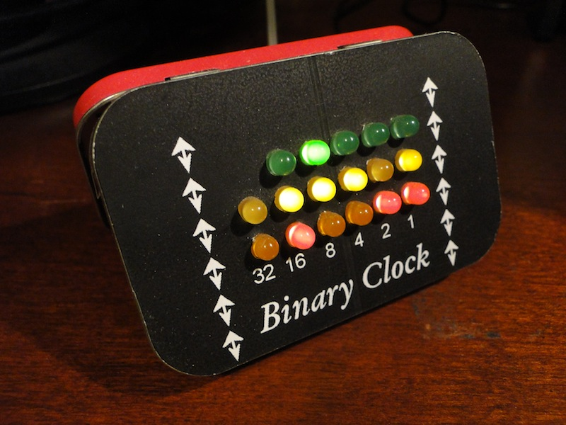 Binary clock project
