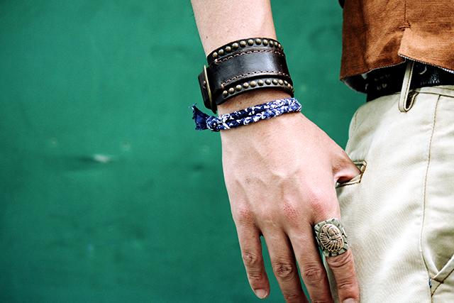 deadstockbandanaデッドストックバンダナnecklace bracelet ネックレス ブレスレットgreenangle ga mensfashion グリーンアングル 原宿harajuku