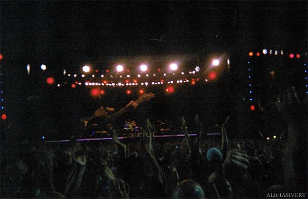 aliciasivert, alicia sivertsson, gothenburg, göteborg, bruce springsteen concert, analog, engångskamera, konsert, ullevi, the e street band, scene