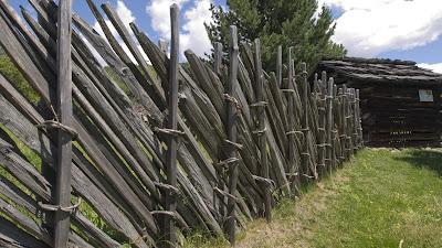recinzione steccato Schärenzaun