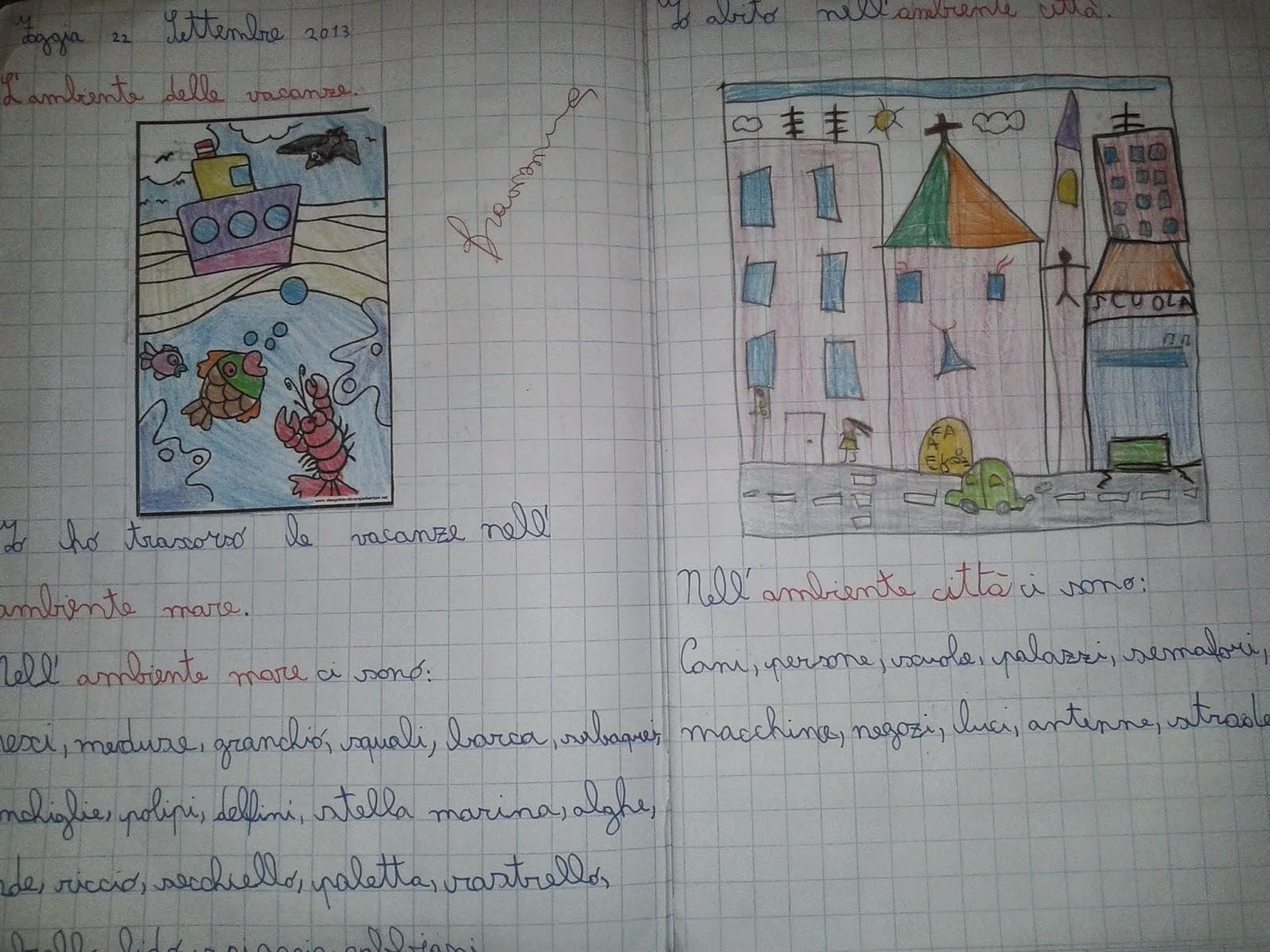 Favori LA MAESTRA MARIA TI SALUTA: Quaderno di geografia classe 2^ a.s.  LE26