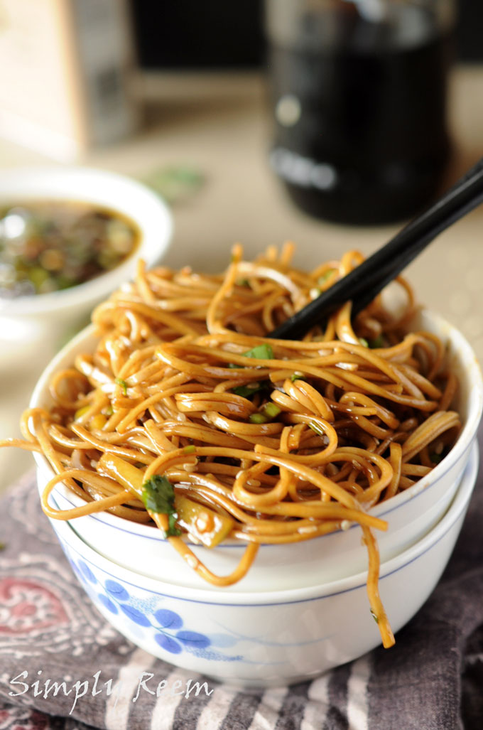 Ginger Soba Noodles Recipe — Dishmaps