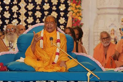 Kripaluji Maharaj's Radha Ashtami 2012 at Prem Mandir
