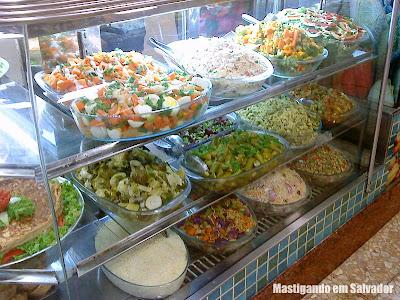 Rafigos: Vitrine de Saladas