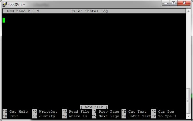 Hướng dẫn cài đặt và sử dụng Nano editor cho VPS