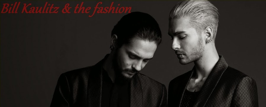 Bill Kaulitz and the fashion