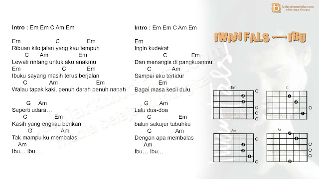 kunci gitar iwan fals lengkap lirik