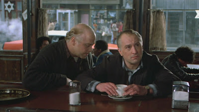 noodles-patsy, once upon a time in america, robert de niro as old noodles, directed by sergio leone