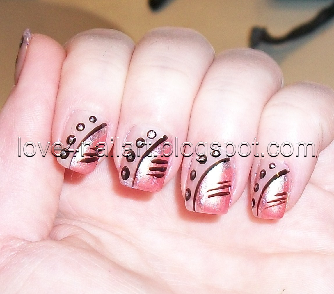 Nail Art For Short Nails Plain: Love4NailArt: Simple Nail Design For Short Nails