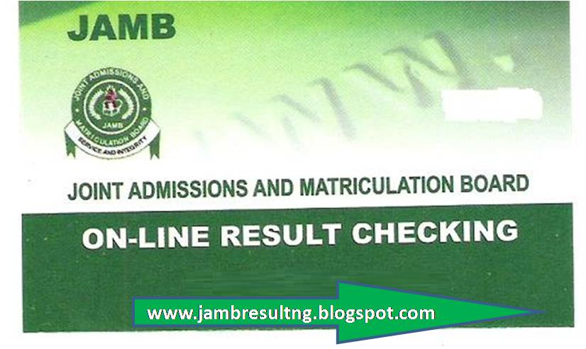 2014 Jamb result Out!, check your Result - Jamb Result.ORG.NG