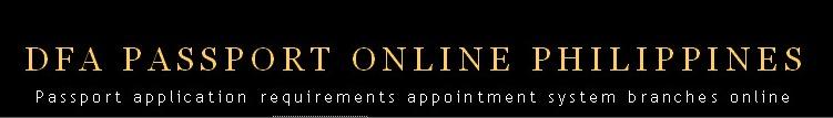 DFA Passport Online Helpline Philippines