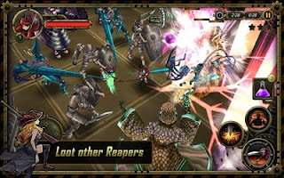 Screenshots of the Reapers : Blades of Vengeance for Android tablet, phone.
