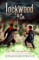 lockwood & co.: the screaming staircase by jonathan stroud book cover