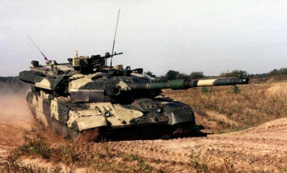 Tank Tempur Utama T-84 Oplot