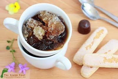 Granita cu scortisoara si cafea