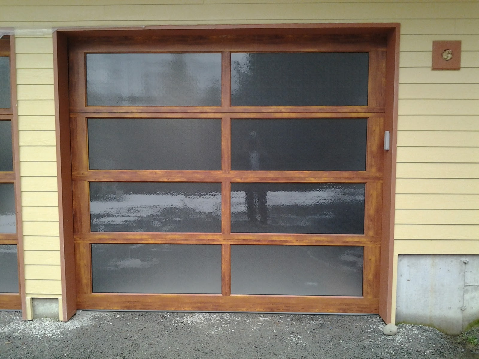 1200 #6F442F The Precision Garage Door Guy: The Beauty Of Wood In A Aluminum Door save image Precision Entry Doors 45771600