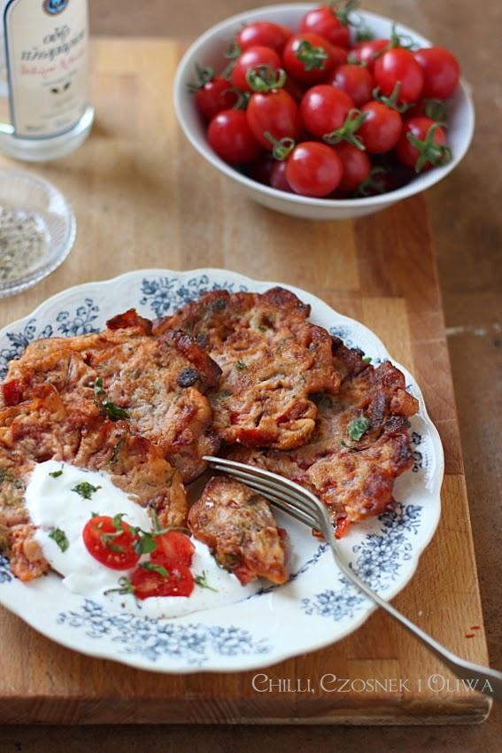 placuszki z pomidorow