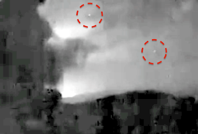 Glowing UFO's Caught Above Costa Rica 2015, UFO Sighting News