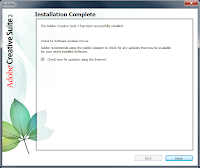 Windows 7. Free Adobe CS2 installation - Optional. Check for updates