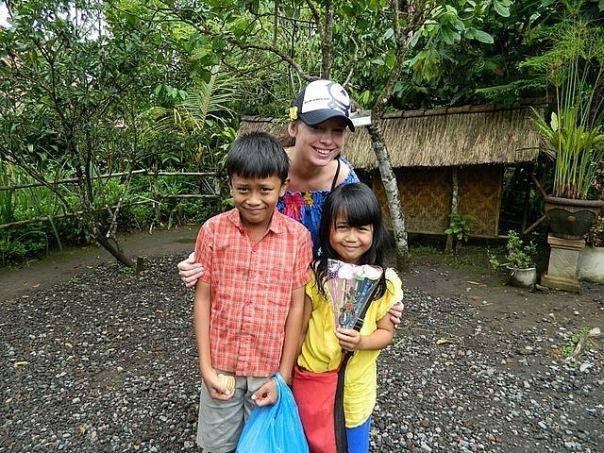 Нелли и Никита на Бали