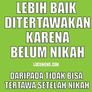 DP BBM Kapan Kawin
