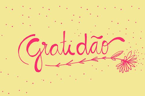 A gratidão me faz ser melhor