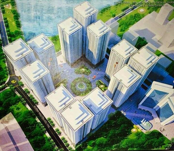 Tổng quan Quan dự án Chung Cư Linh Đàm 4 tòa HH1, HH2, HH3, HH4