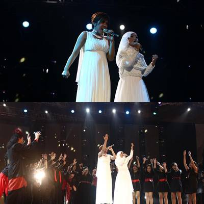 final reach gloria estefan feat novita dewi